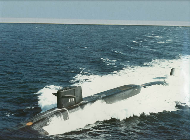 USS Sam Rayburn Pictures
